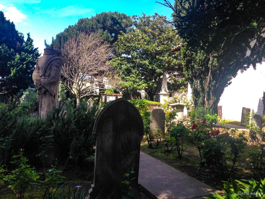 Le cimetière de la mission.