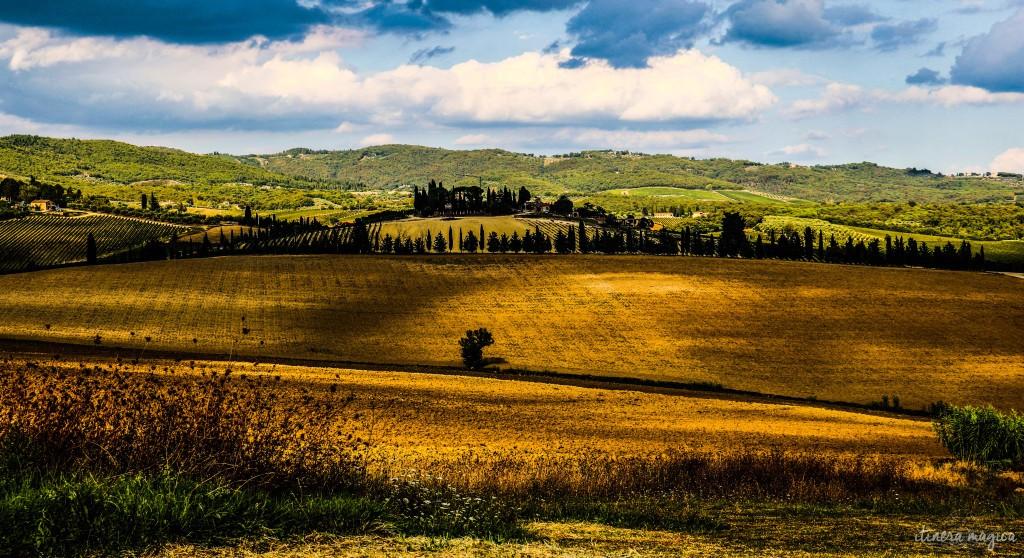 Merveilleuse Toscane.