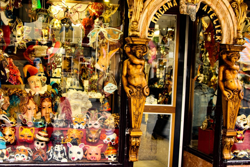 Masks and tricks in Venice.