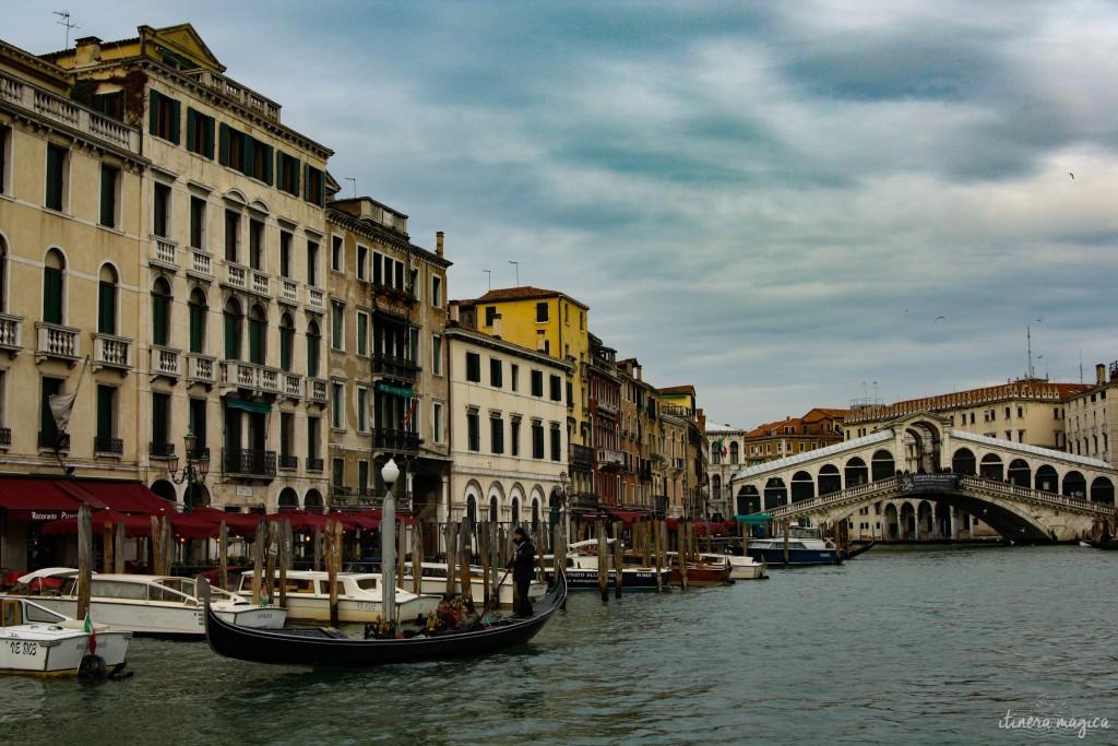 Rialto Bridge, one of Venice's most iconic spots.