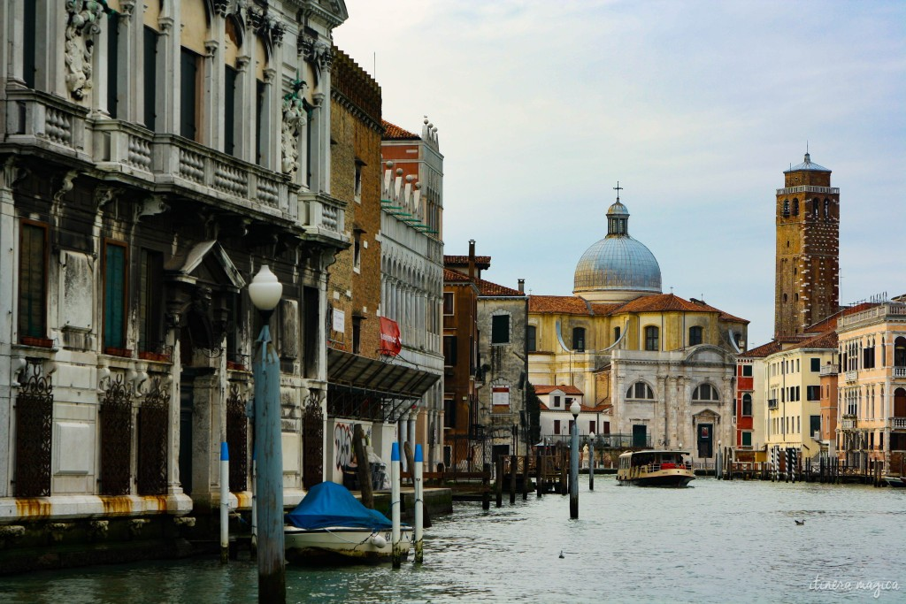 Beautiful Venice, resting on shallow waters.