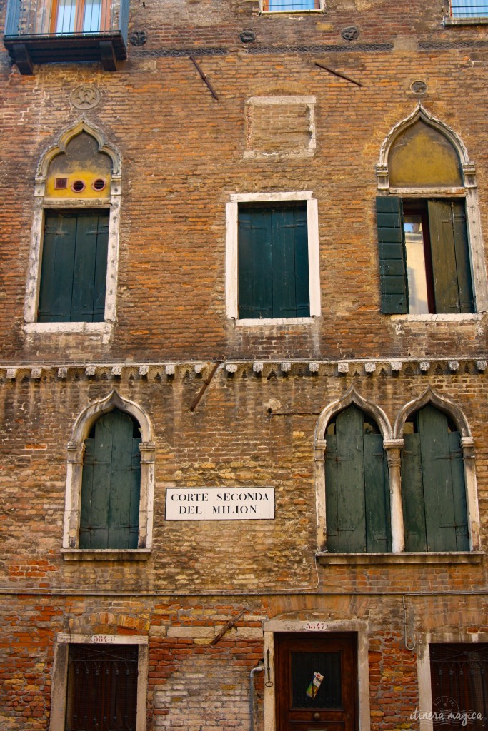 Marco Polo's house in Venice - in my religion of travel, he would be a God.