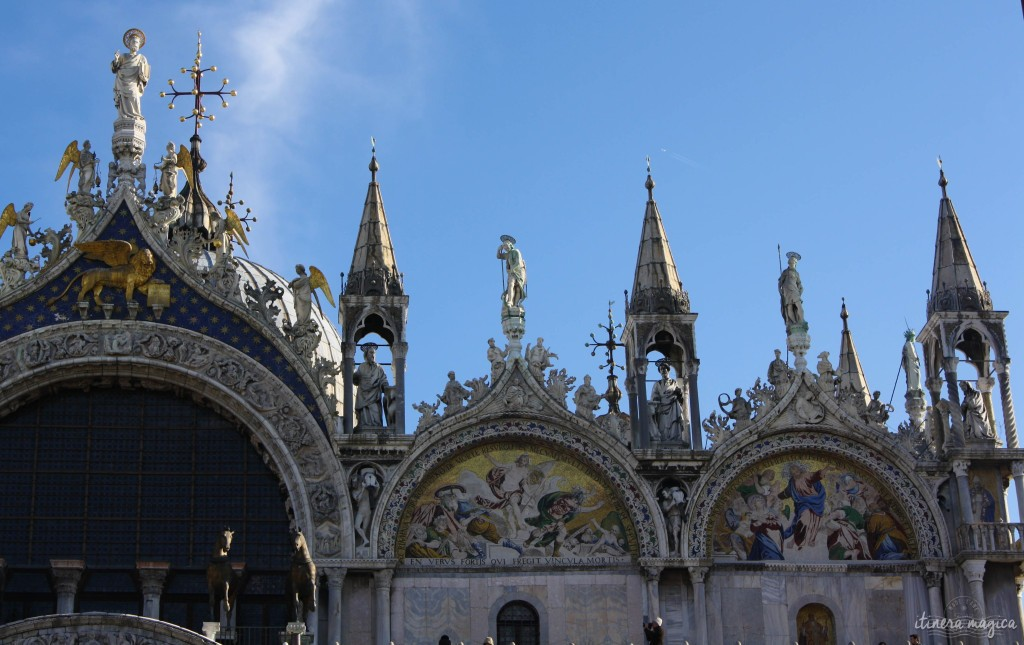 Saint Marc's basilica in Venice.
