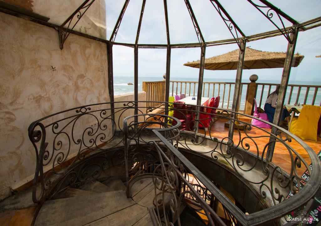 Lifestyle à Essaouira : resto avec vue