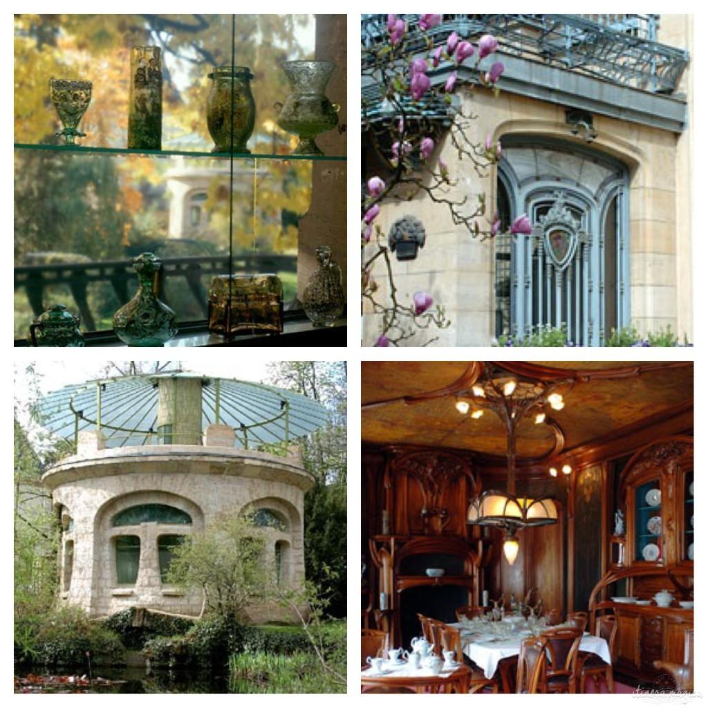 Le merveilleux musée de l'école de Nancy - photos tirées du site du musée.