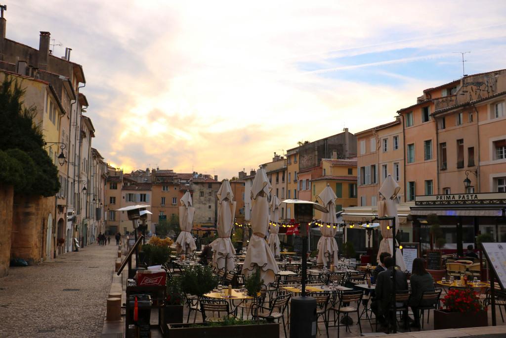 Place des Cardeurs. Aix-en-Provence