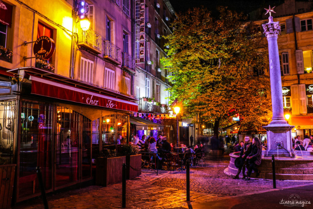 Que faire à Aix-en-Provence ? Sortir dans de super restos, compter les fontaines et admirer la Sainte Victoire ! Carnet d'adresses et photos.
