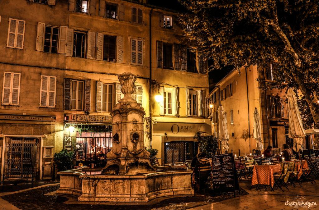 Que faire à Aix-en-Provence ? Carnets d'adresses à Aix-en-Provece