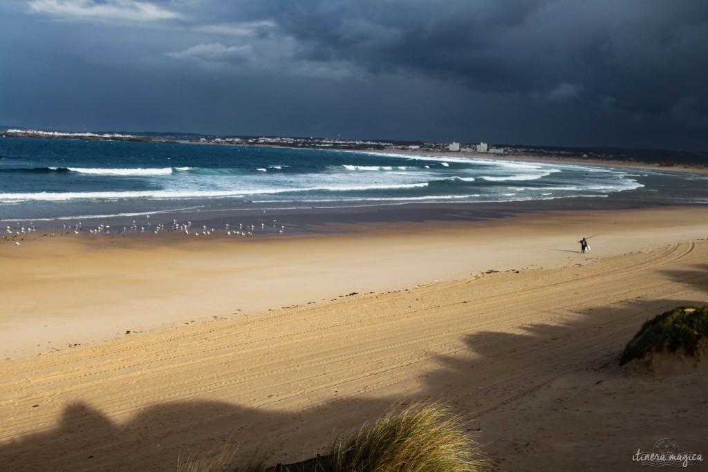 Peniche's beach.