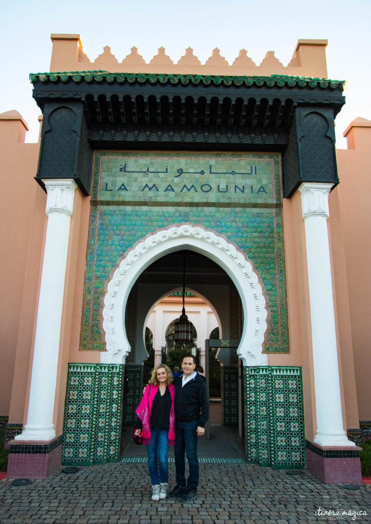 Eric Besson et Ariane Fornia, Marrakech, Maroc