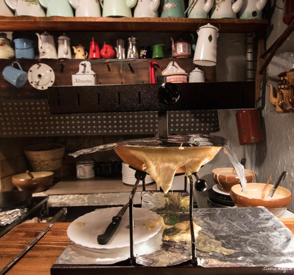 Megève, Chez Maria, crêperie