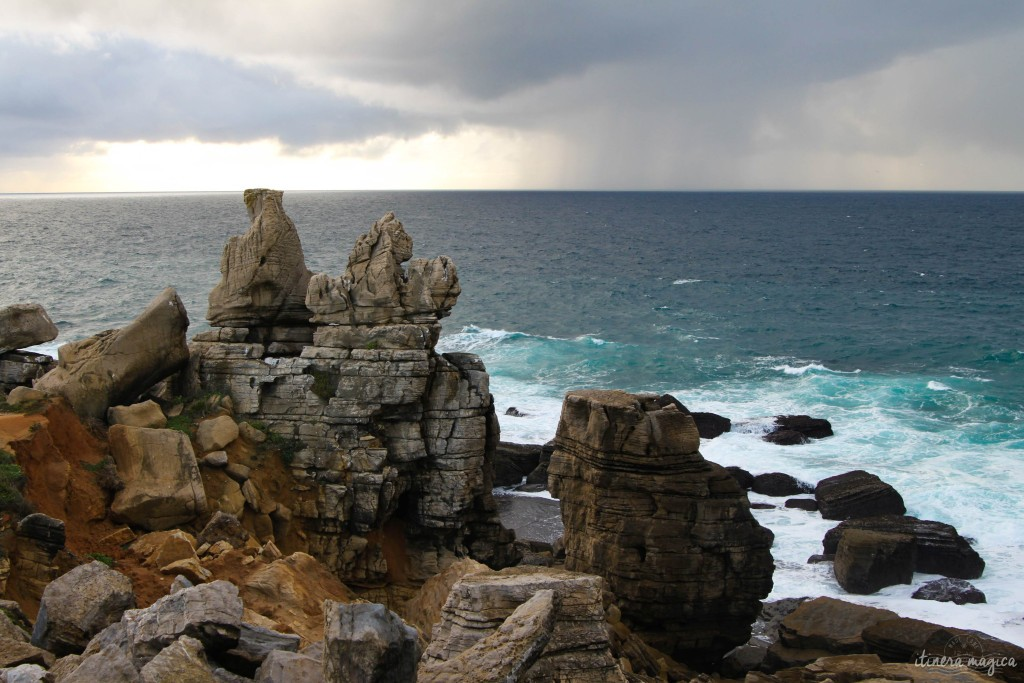 Geological wonders of Peniche.