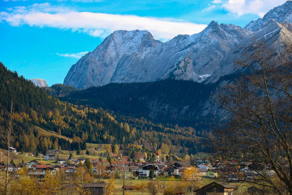 Paysage alpin, entre Allgäu et Tirol.