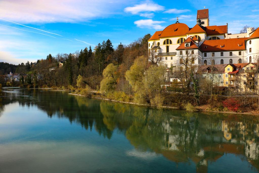 La ville de Füssen.