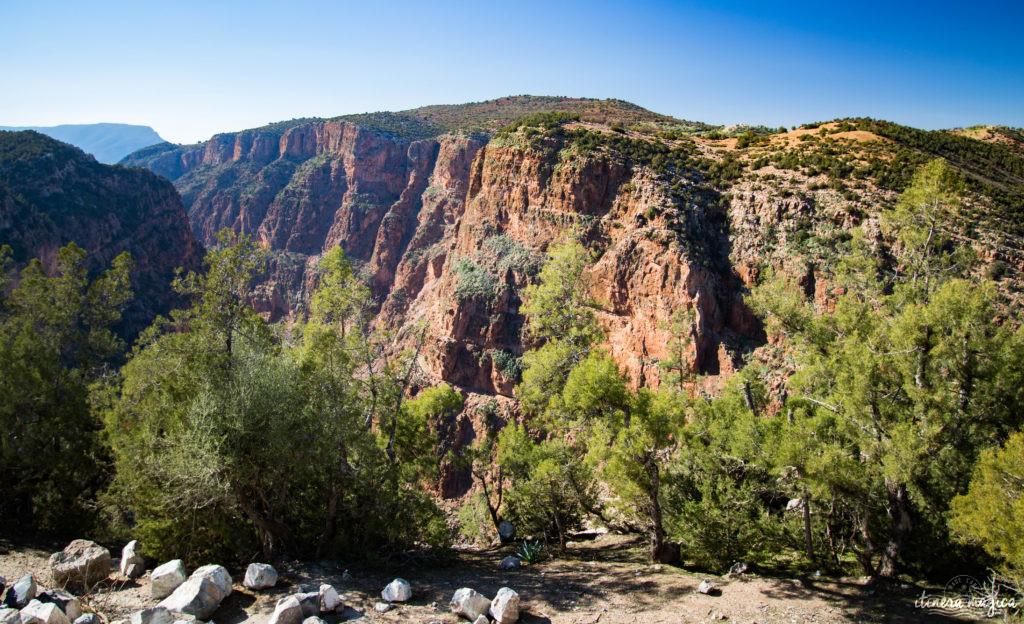 Sur la route de Ouarzazate ou des cascades d'Ouzoud, road trip dans le sud du Maroc.