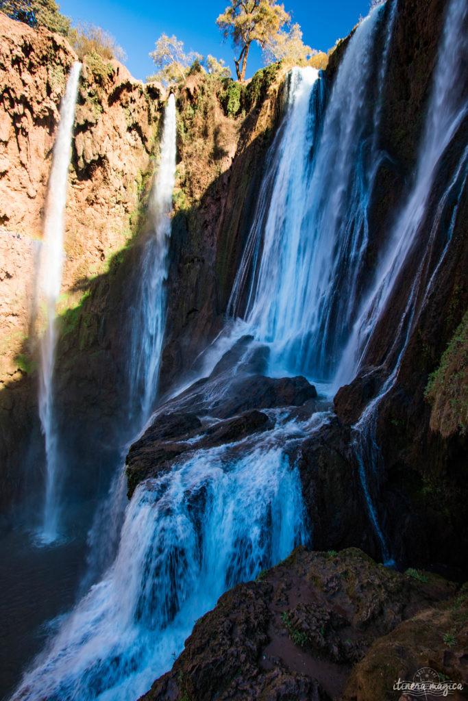 Les cascades d'Ouzoud, au sud du Maroc