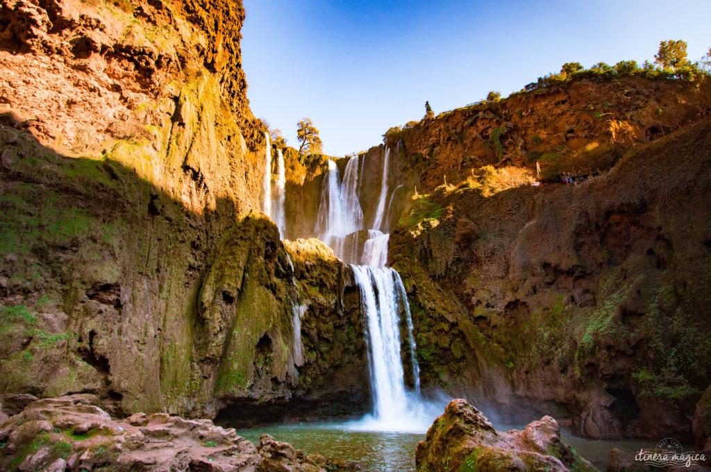 Ouzoud. Sur la route de Ouarzazate ou des cascades d'Ouzoud, road trip dans le sud du Maroc.