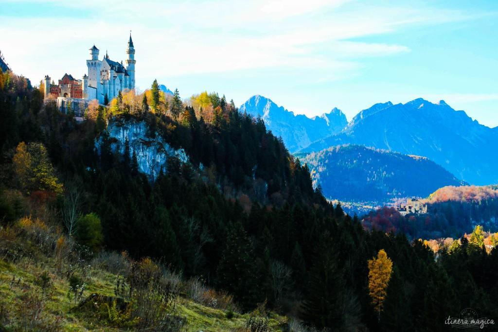 Les plus beaux endroits de Bavière sur Itinera Magica