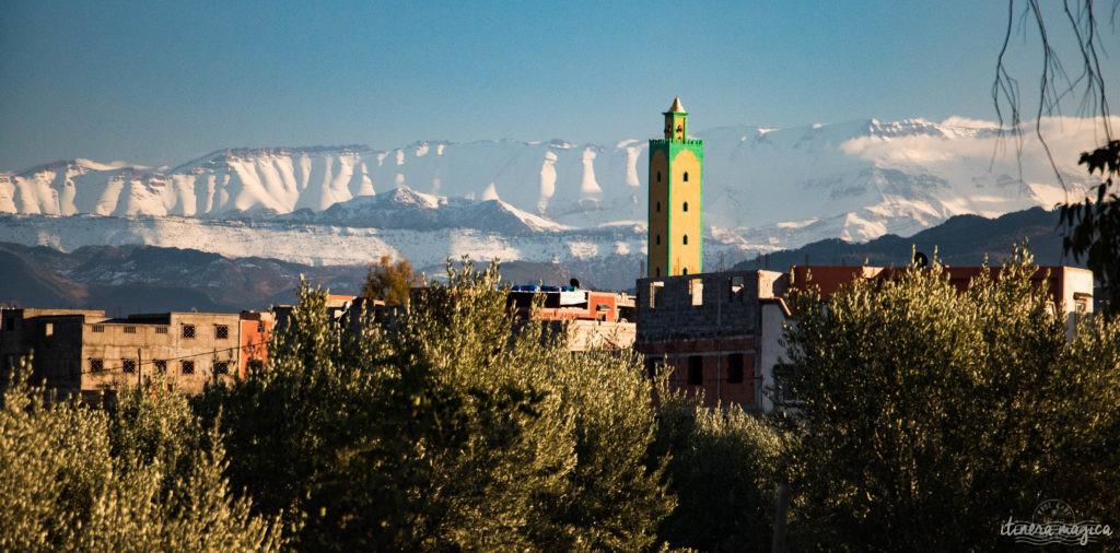 Sur la route de Ouarzazate ou des cascades d'Ouzoud, road trip dans le sud du Maroc, autour de l'Atlas
