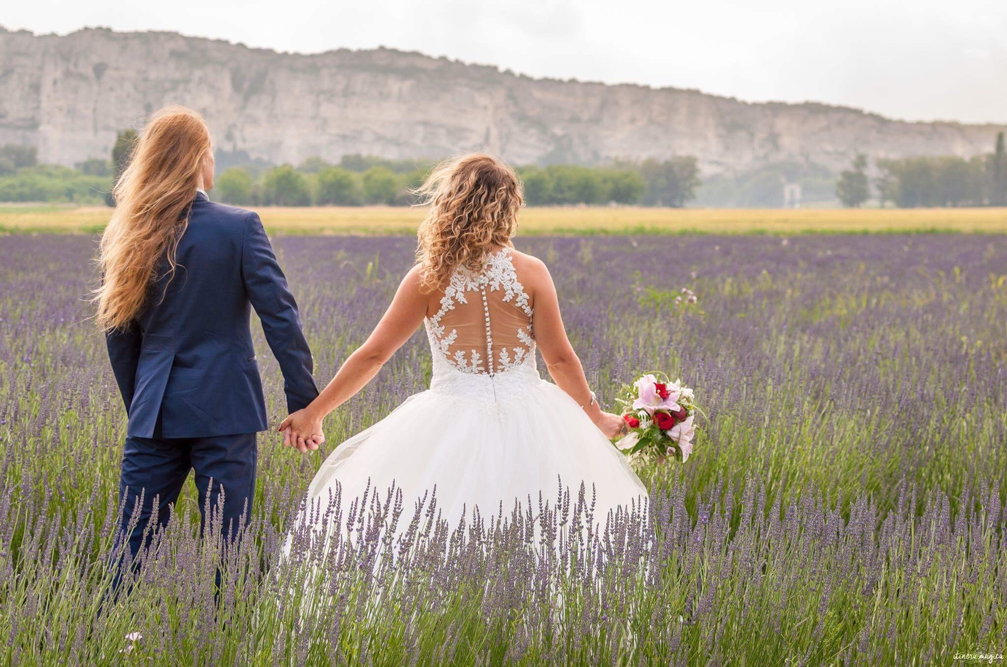 Lavender wedding in Provence