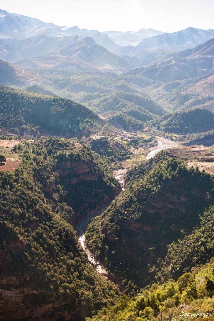 Sur la route de Ouarzazate ou des cascades d'Ouzoud, road trip dans le sud du Maroc