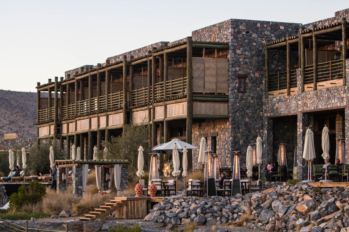 alila jabal akhdar plus bel hôtel d'oman