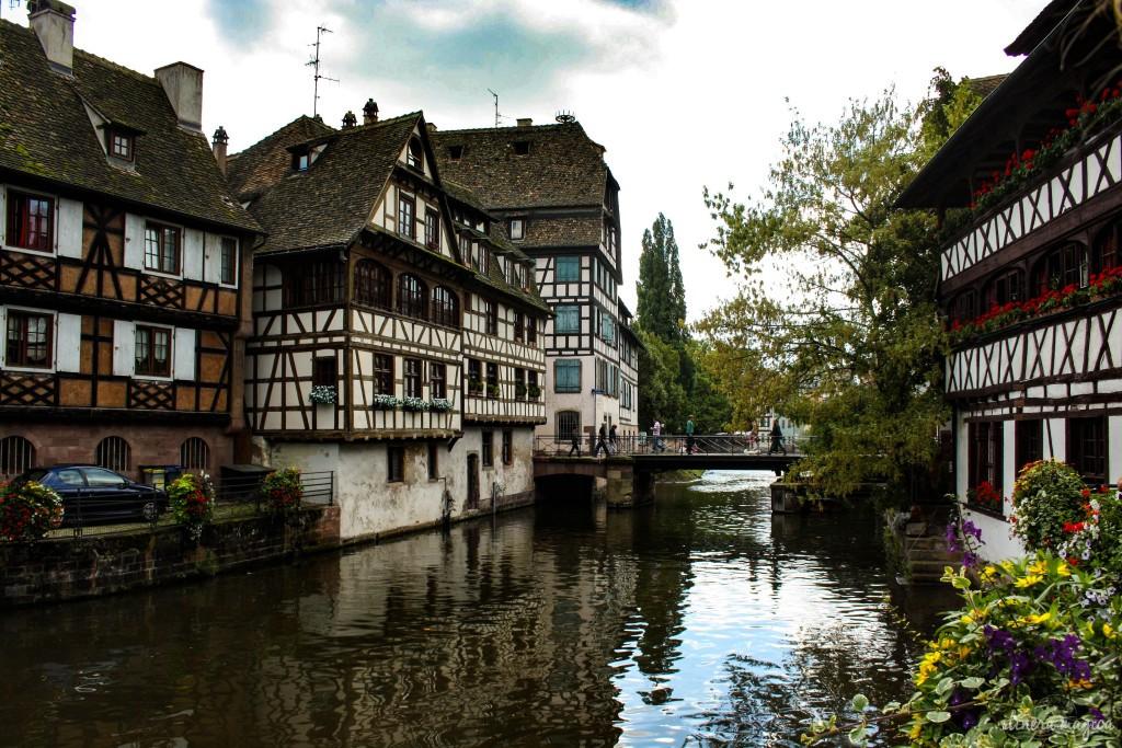 Straßburg petite france elsass tourismus reise