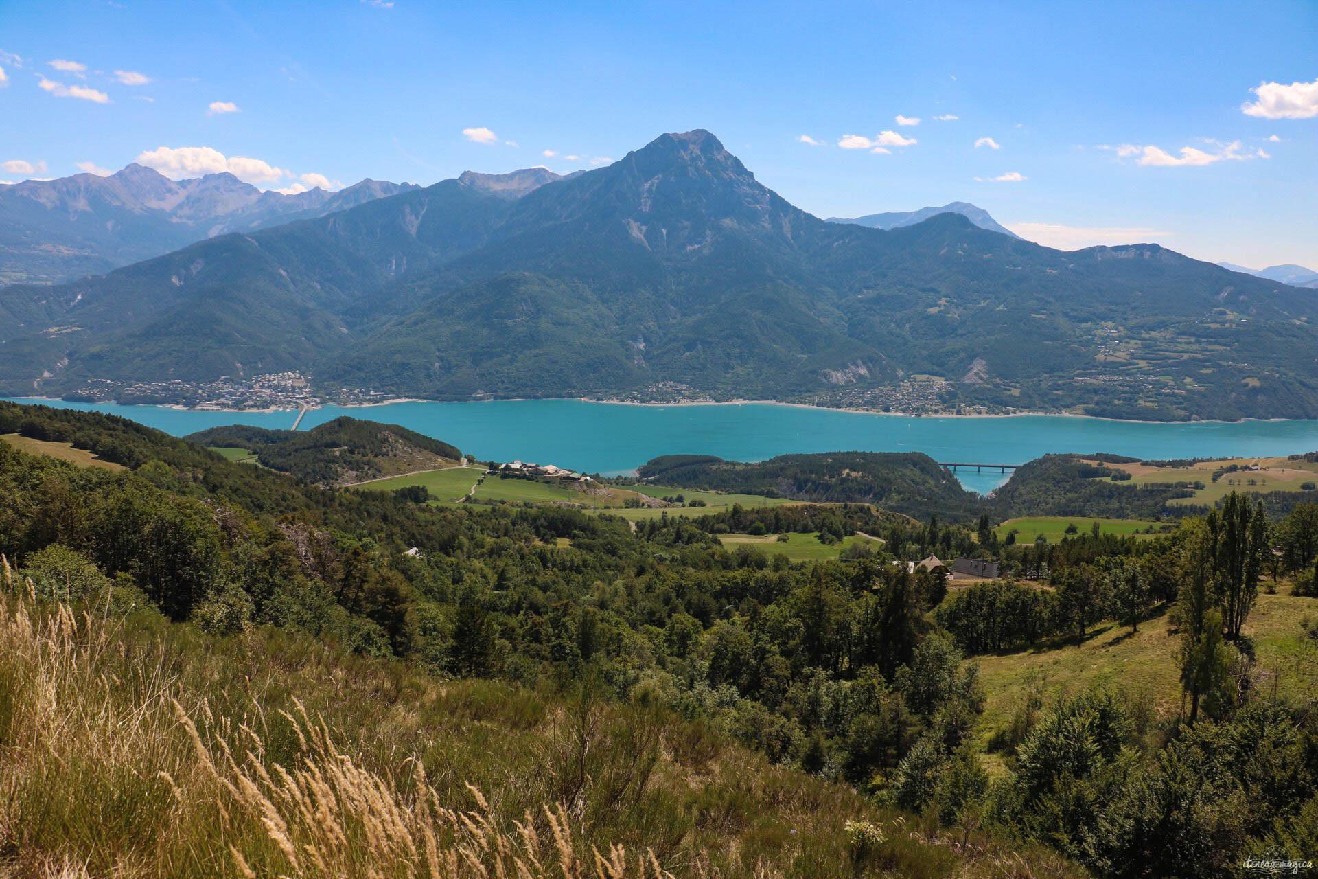 Blog lac de Serre Ponçon