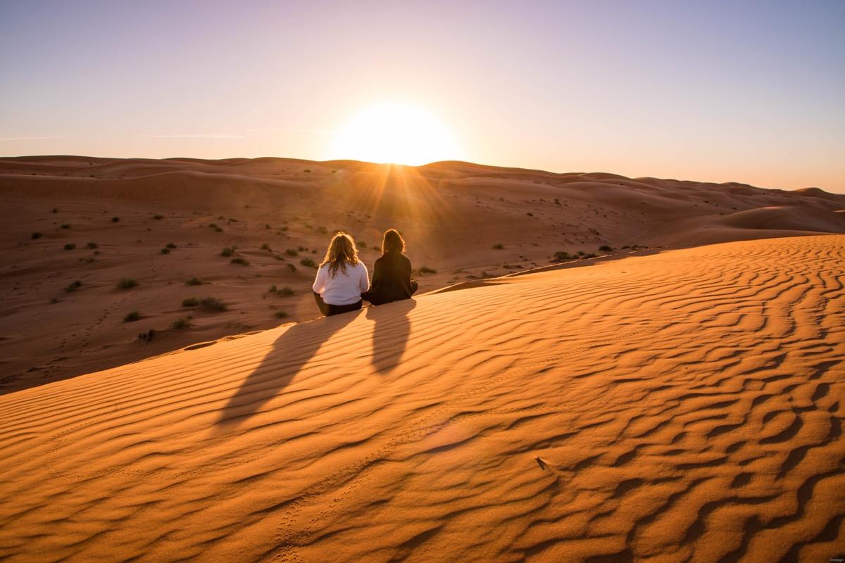 Les plus beaux paysages d'Oman : un voyage d'une semaine à Oman est une plongée dans les 10001 nuits.