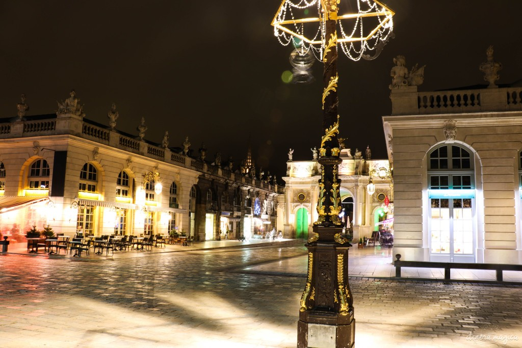 Lumières de la place Stanislas.