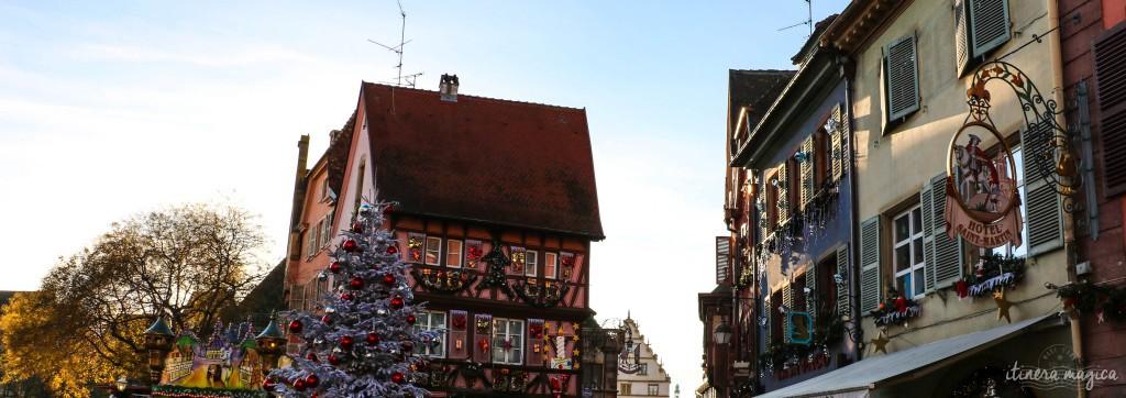 Colmarer Weihnachtsmarkt.