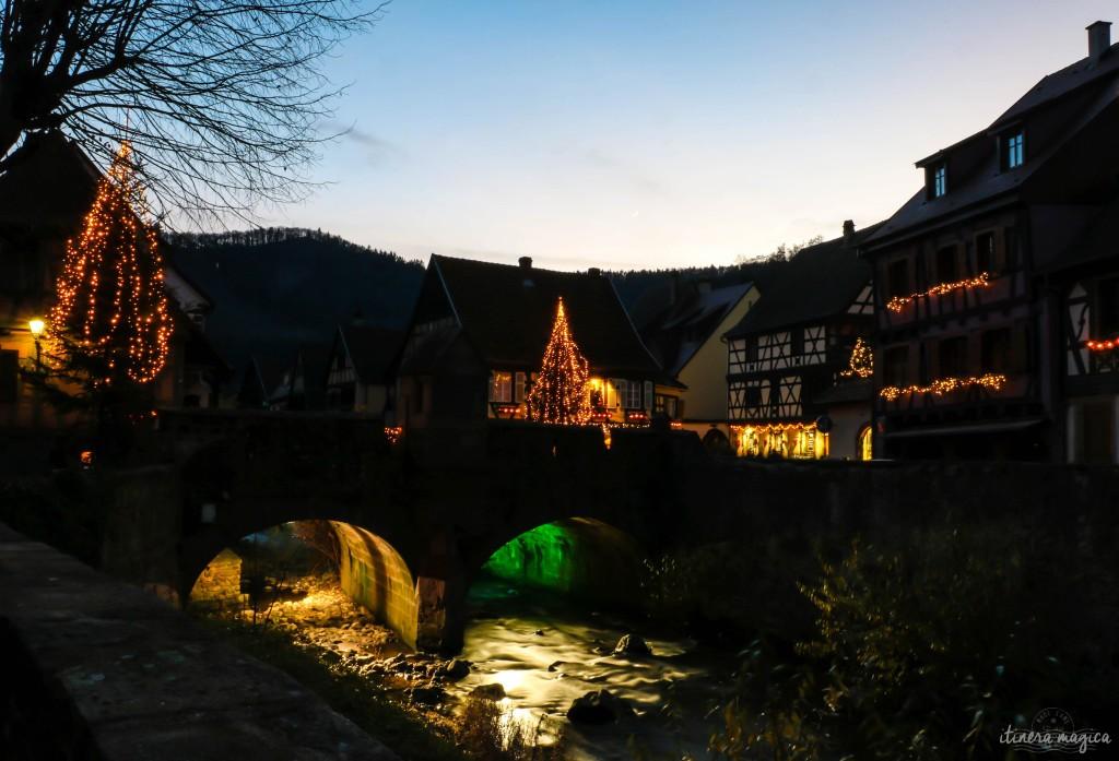 Am Weihnachtsmarkt in Kaysersberg.