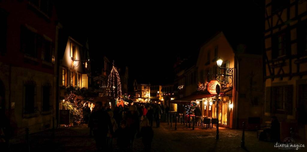 Nachts in Kaysersberg.