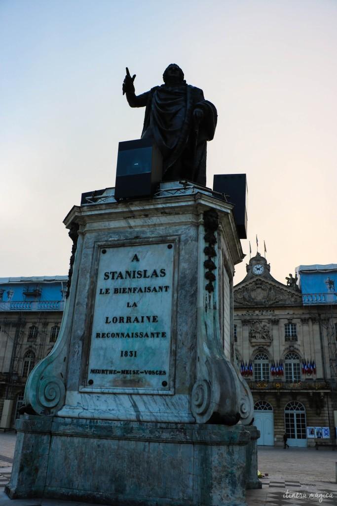 Le plus célèbre duc de Lorraine, Stanislas.