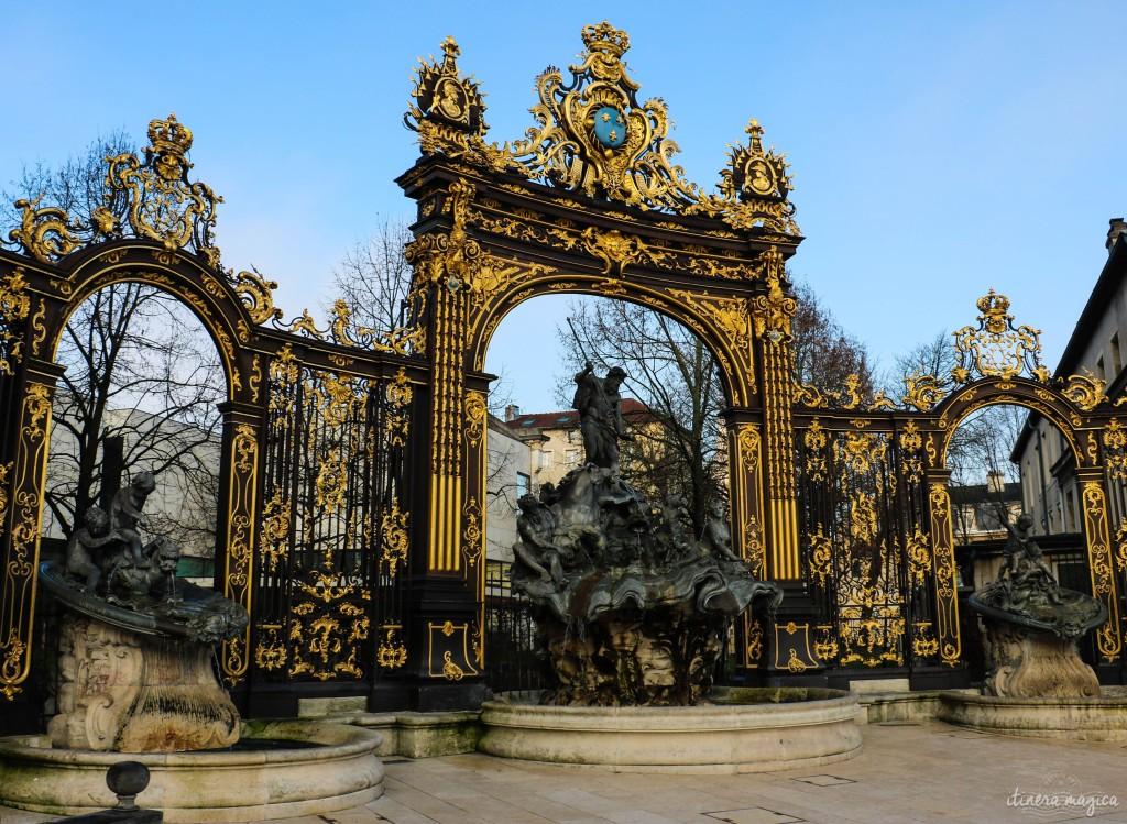 voyage nancy lorraine fontaine stanislas