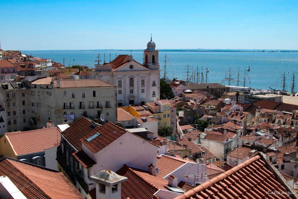 Lisbonne, la belle.