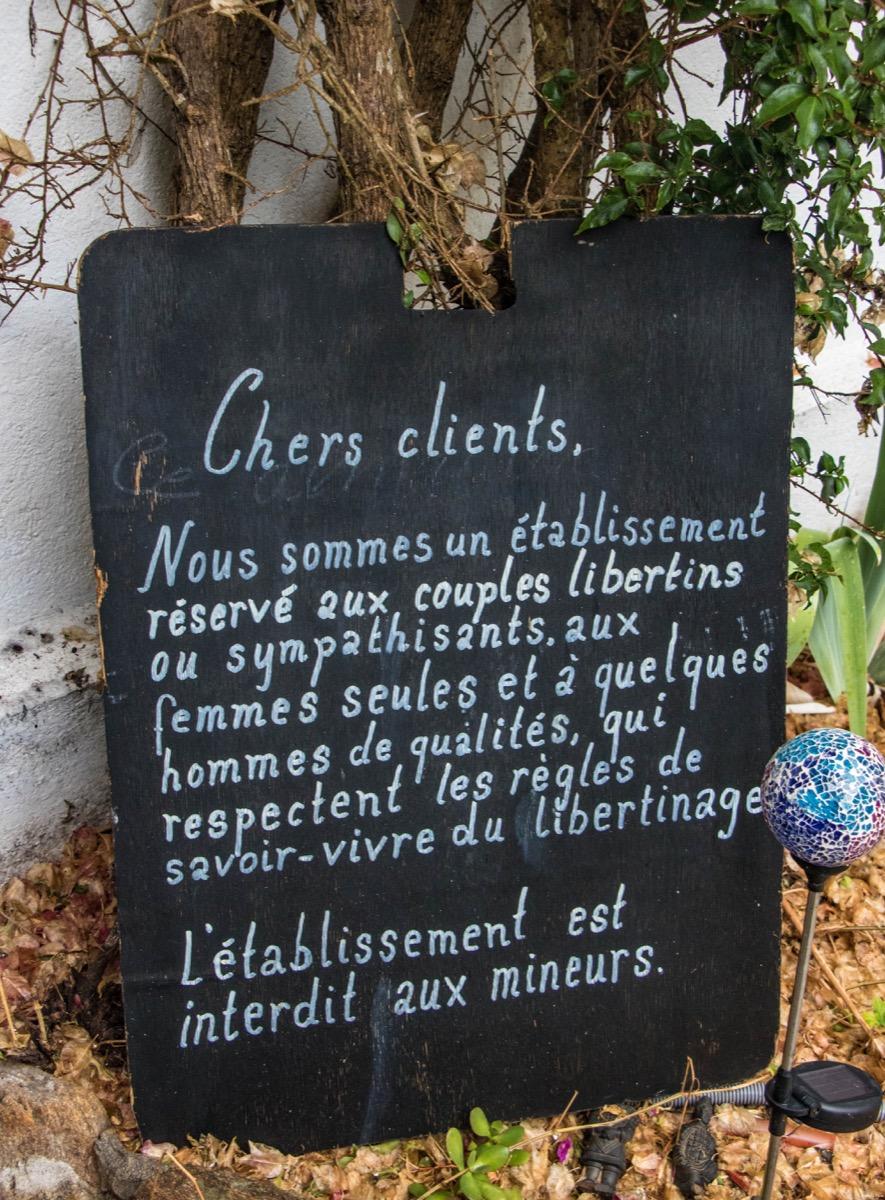 Hôtel libertin île du Levant