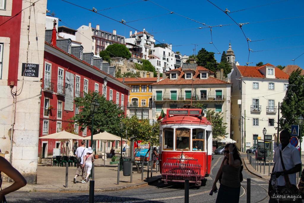 Le célèbre tramway lisboète.