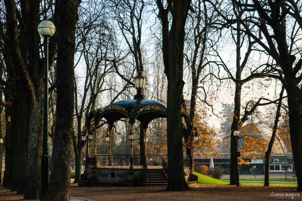 Parc de la Pépinière, l'hiver. Spleen.
