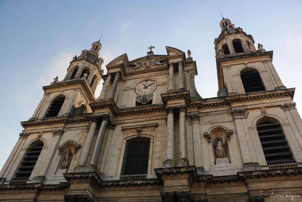 Façade de la cathédrale de Nancy.