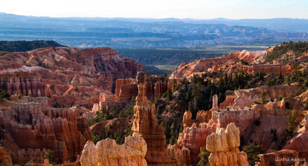 Matin à Bryce Canyon.