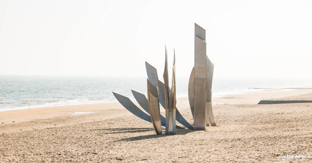 Le circuit guidé des plages du débarquement : plongée au coeur de l'histoire. Pointe du Hoc, Omaha Beach, Arromanches, mémorial de Caen, cimetière américain de Colleville.