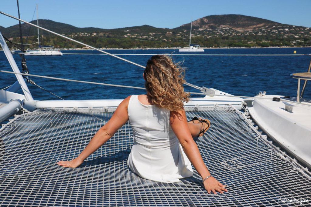 bateau saint tropez maxi catamaran caseneuve
