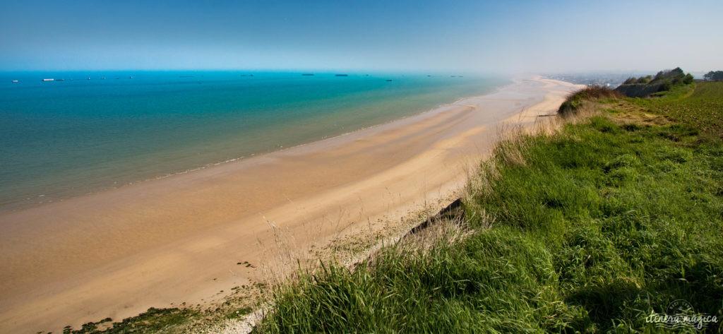 Le circuit guidé des plages du débarquement : plongée au coeur de l'histoire. Pointe du Hoc, Omaha Beach, Arromanches, mémorial de Caen.