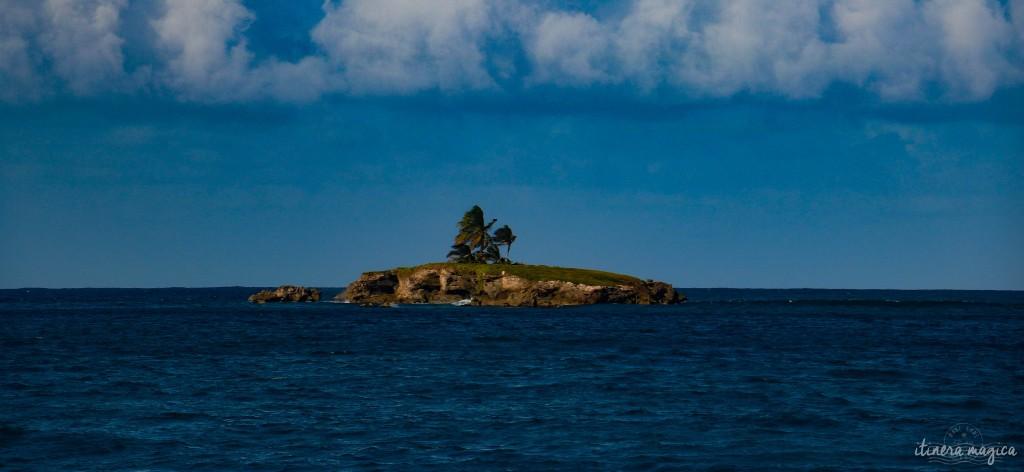 Îlet Vieux fort, au large de Marie-Galante.