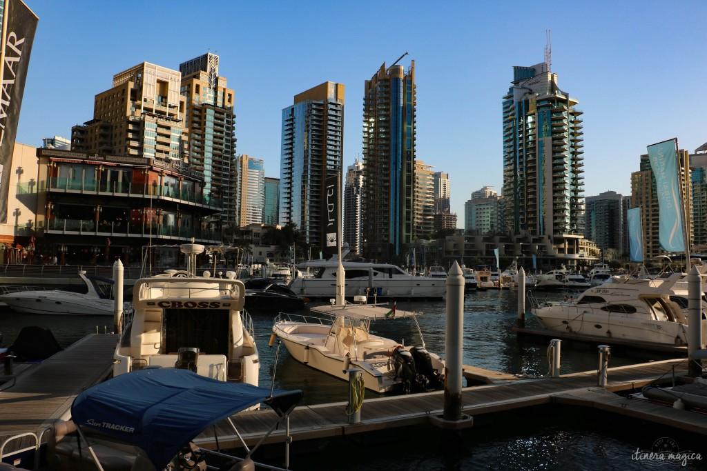Marina de Dubaï.