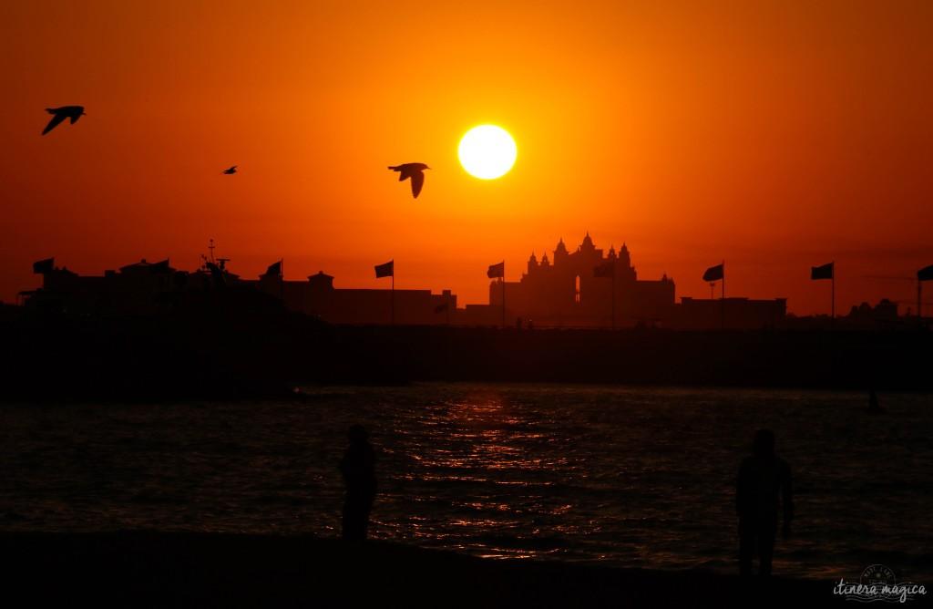 Dubaï crépuscule sur l'Atlantis