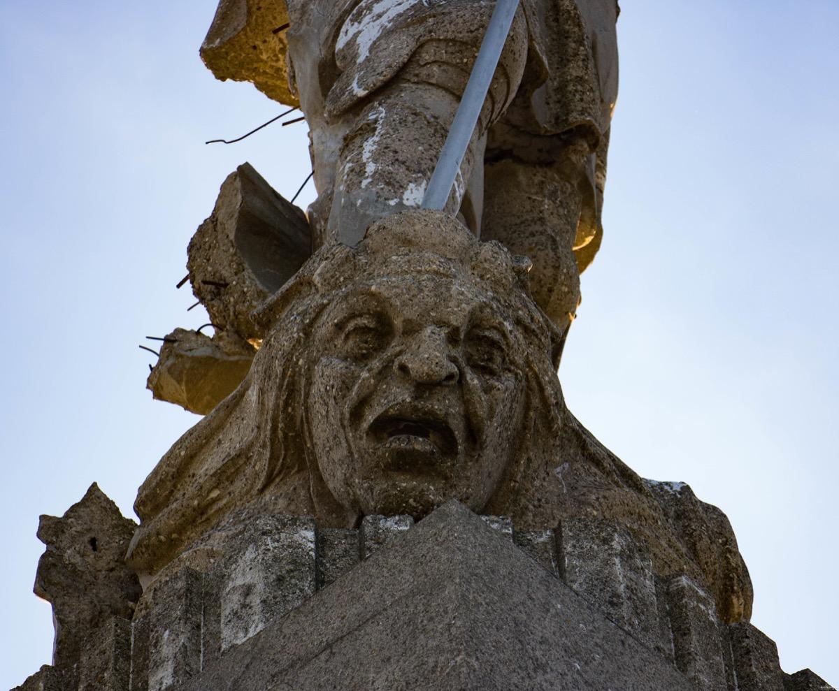 Archange de Viviers en Ardèche.