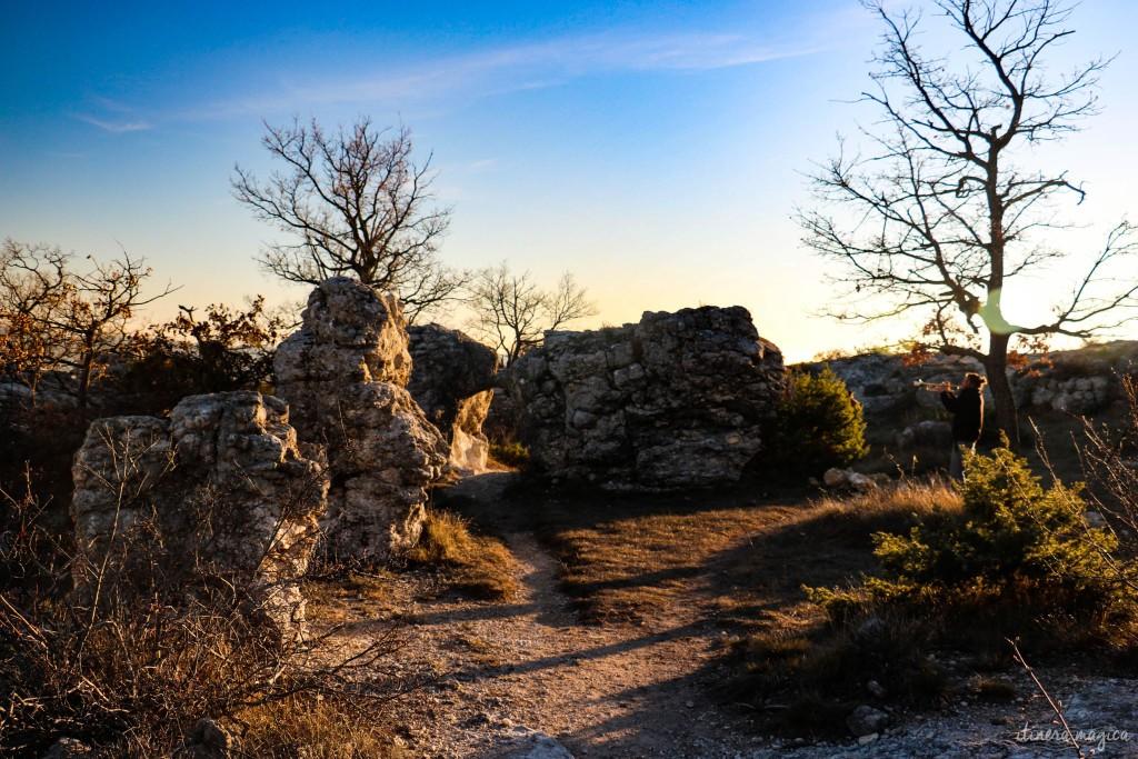 Curiosités géologiques, féeries de pierre.