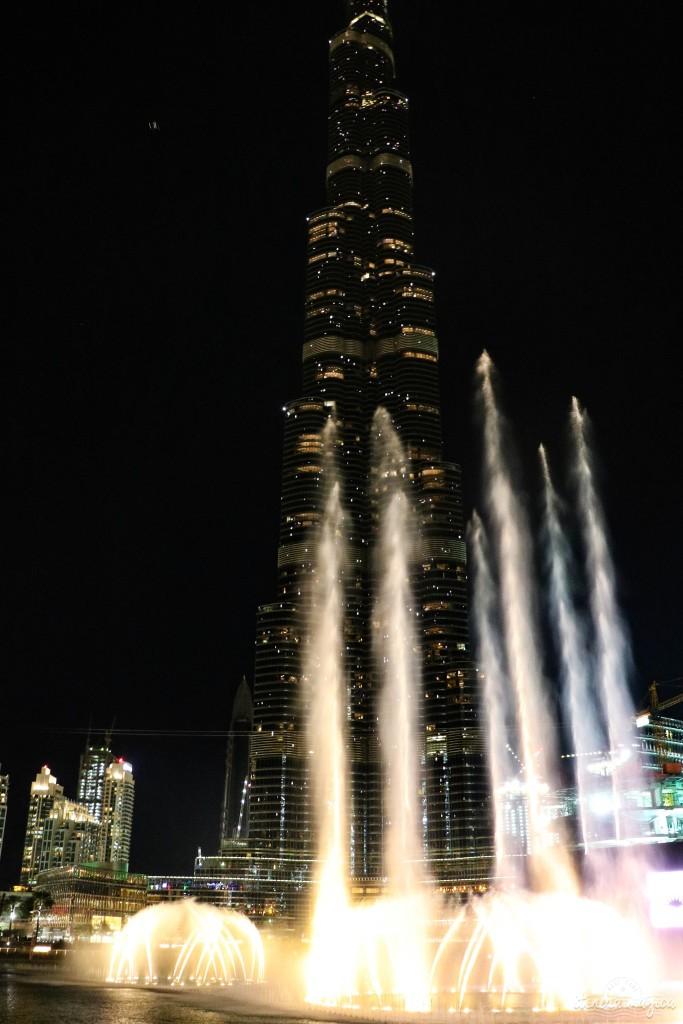 dubaï burj khalifa fontaine